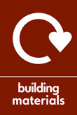 Building materials recycle logo