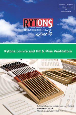 Rytons BROCH Cover Louvre Hit Miss Vents December 2016