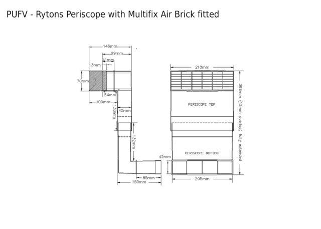Pufv Rytons Periscope 174 Underfloor Ventilator Rytons