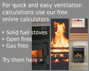 rytons airflow calculator for stoves open fires gas fires