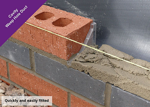 What Are Weep Hole Ducts Where Should They Be Placed Rytons - Brick weeps